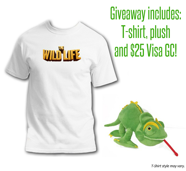 The Wild Life prize pack