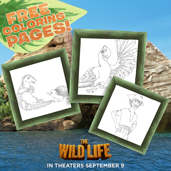The wild life printables