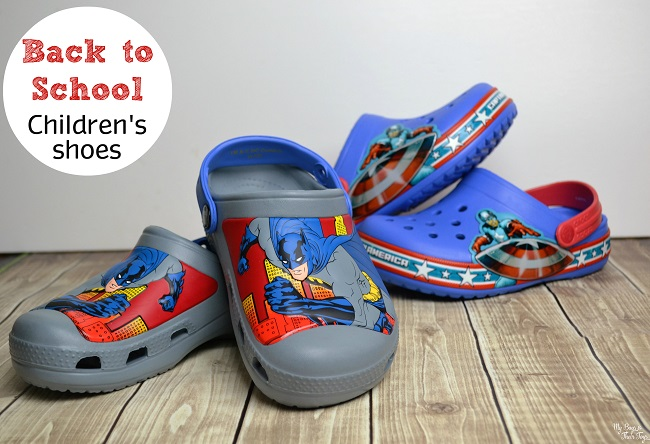 back to school children's shoes