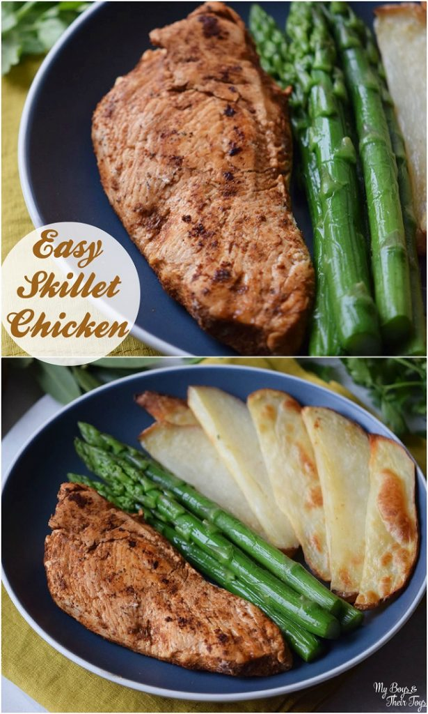easy skillet chicken