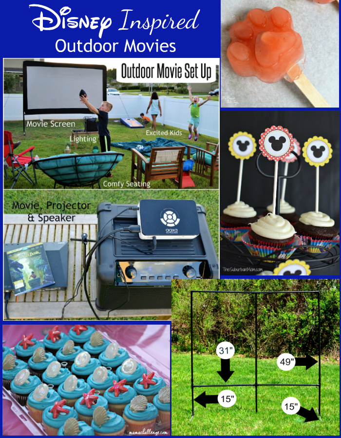disney outdoor movies
