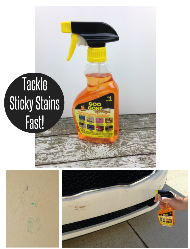 Tackle Sticky Stains Fast With Goo Gone My Boys And