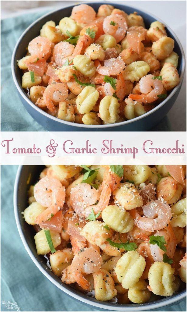 tomato garlic shrimp gnocchi