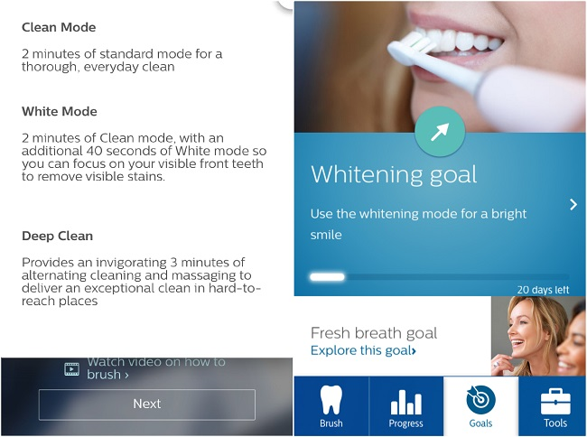 Philips Sonicare FlexCare Platinum Connected Toothbrush