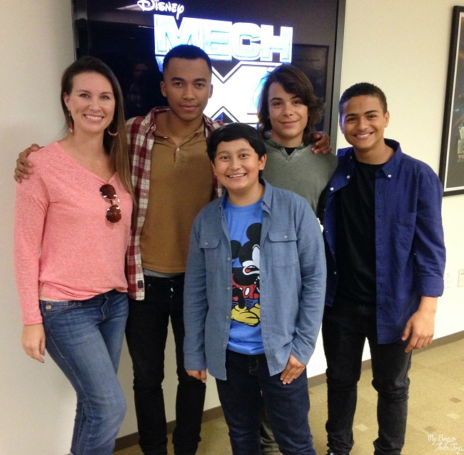 New To Disney XD + Cast & Producers Interview