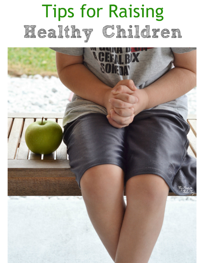tips for raising healthy children