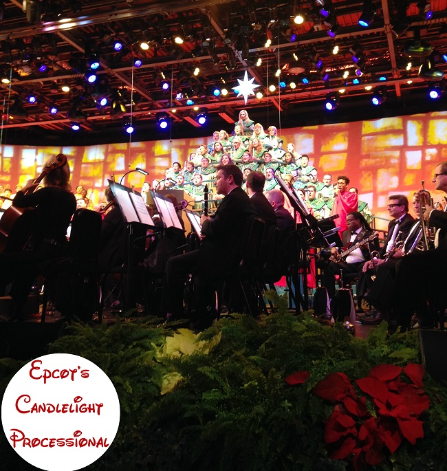 Epcot Candlelight processional 2016