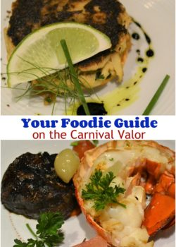 carnival cruise Foodie guide