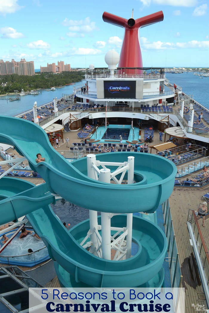 5 Reasons To Book A Carnival Cruise