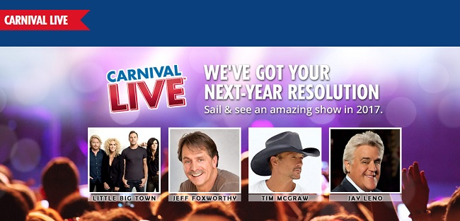 carnival live entertainment