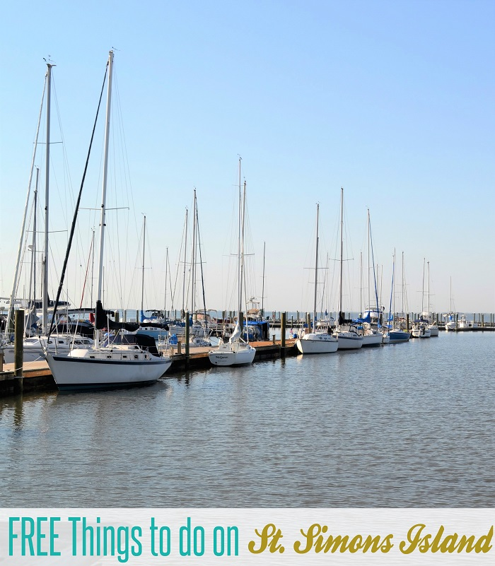 free things to do st simons island