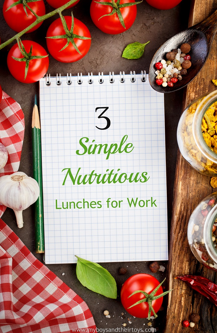 3 simple nutritious lunches