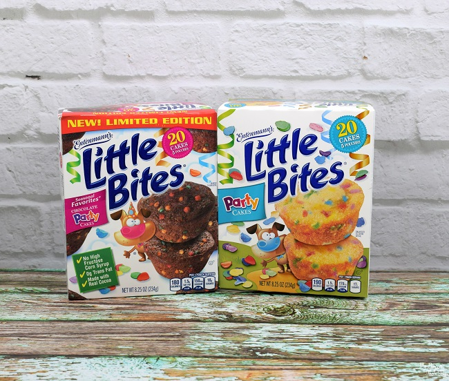 little bites party cakes