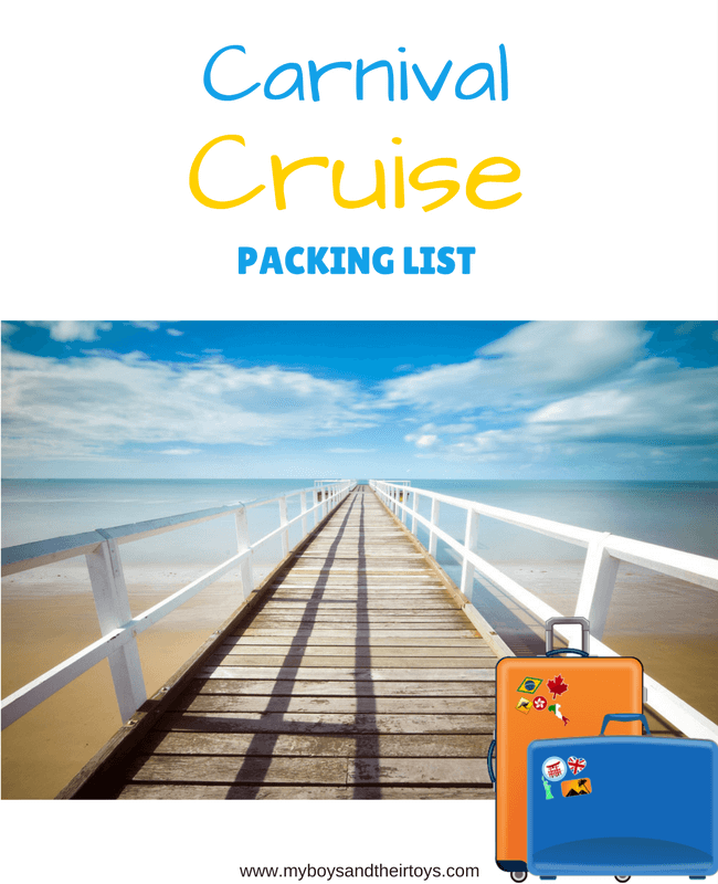 Carnival Cruise Packing List Everything You Need To Set