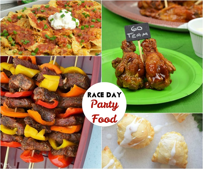 race day party food