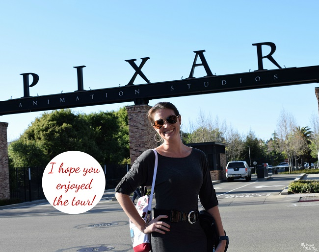 Pixar Animation tour