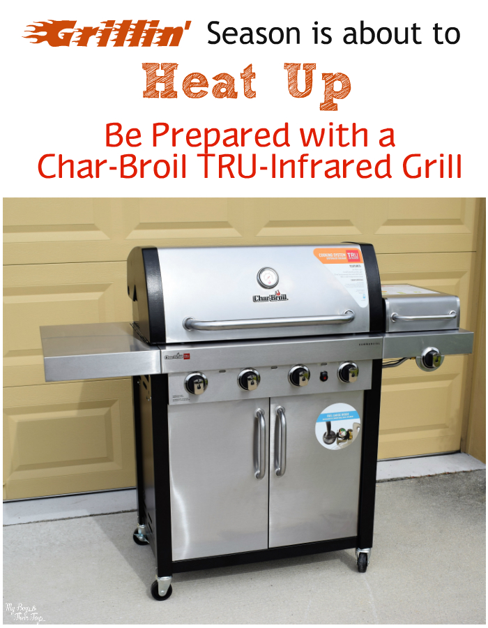 grillin' season is about to heat up