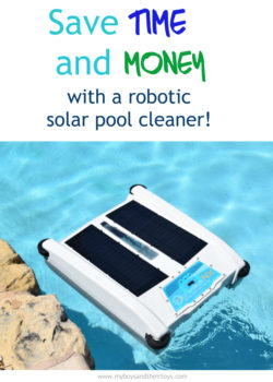 Save Time & Money with a Robotic Solar Pool Cleaner