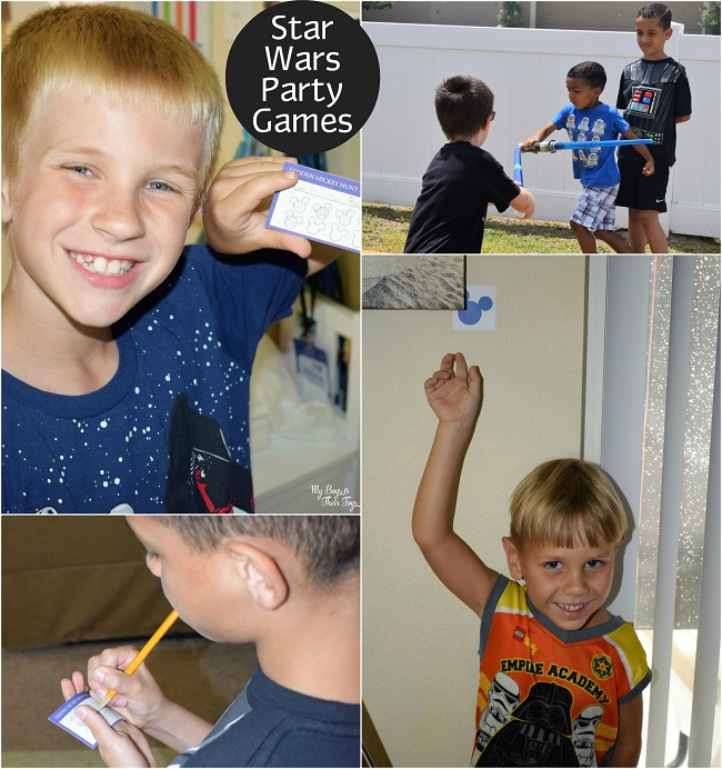 star wars party games