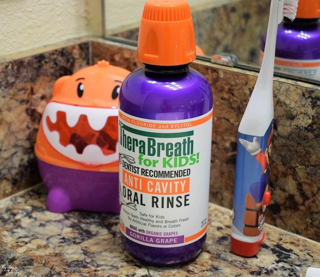 therabreath for kids mouth wash