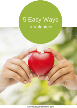 5 easy ways to volunteer