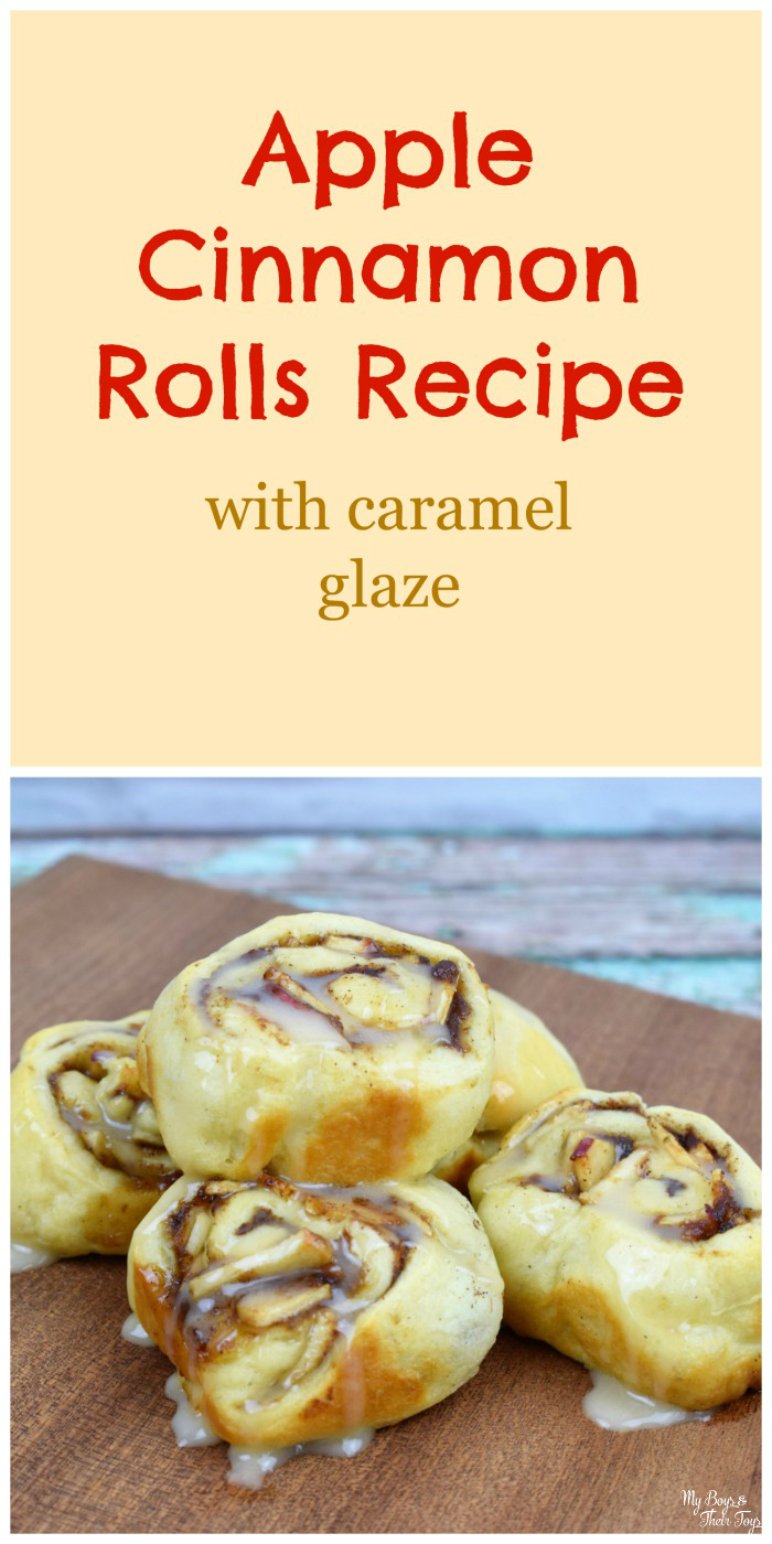 apple cinnamon rolls recipe pin