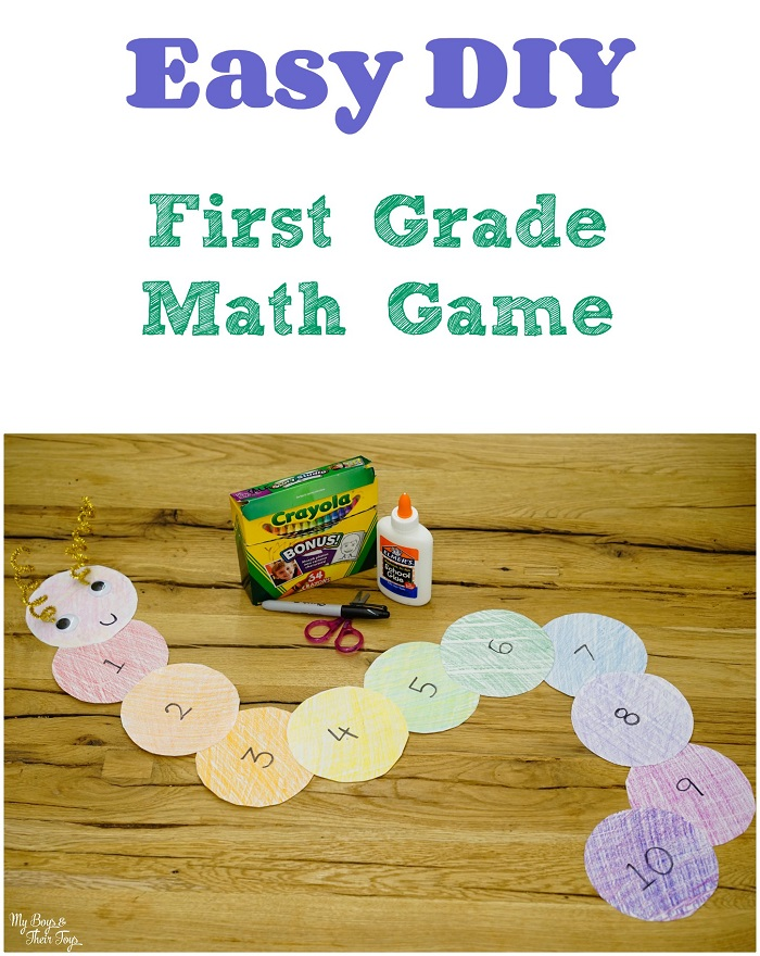 diy first grade math game
