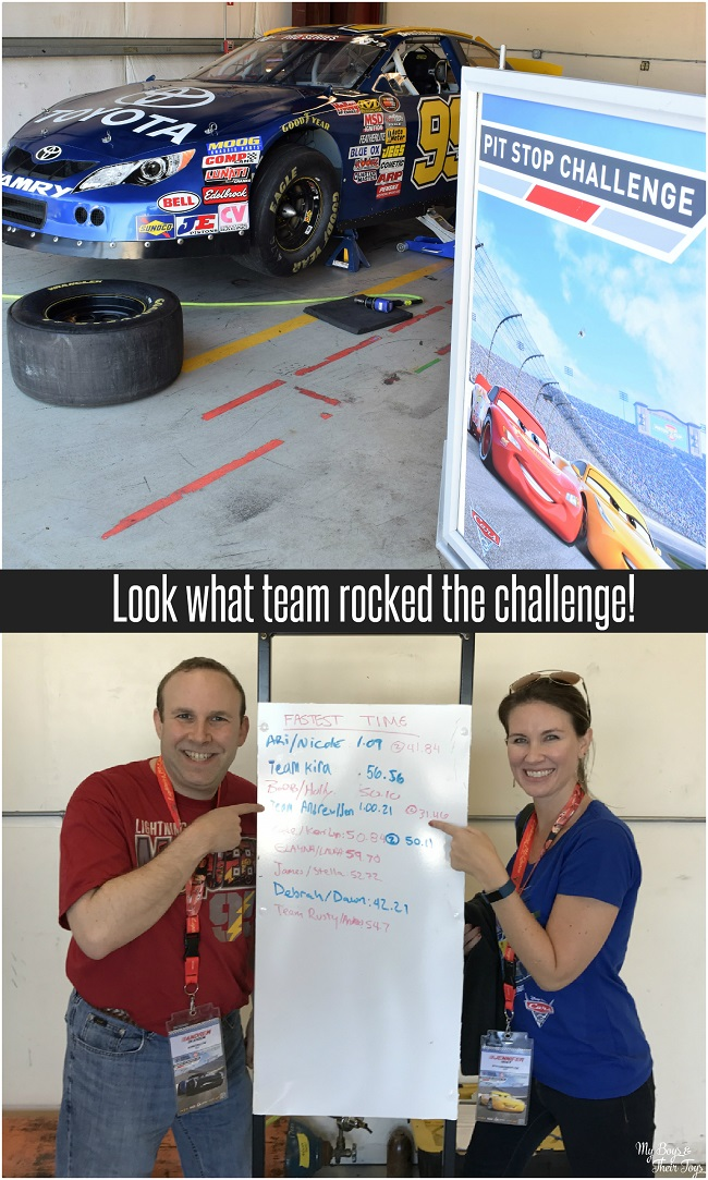 pit stop challenge winners