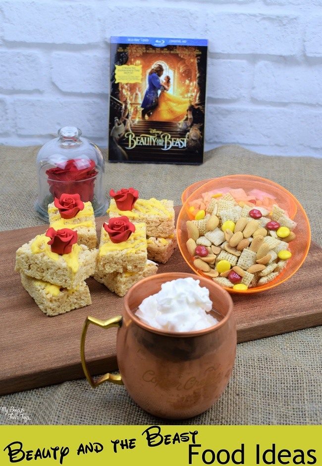 Beauty and the beast party food