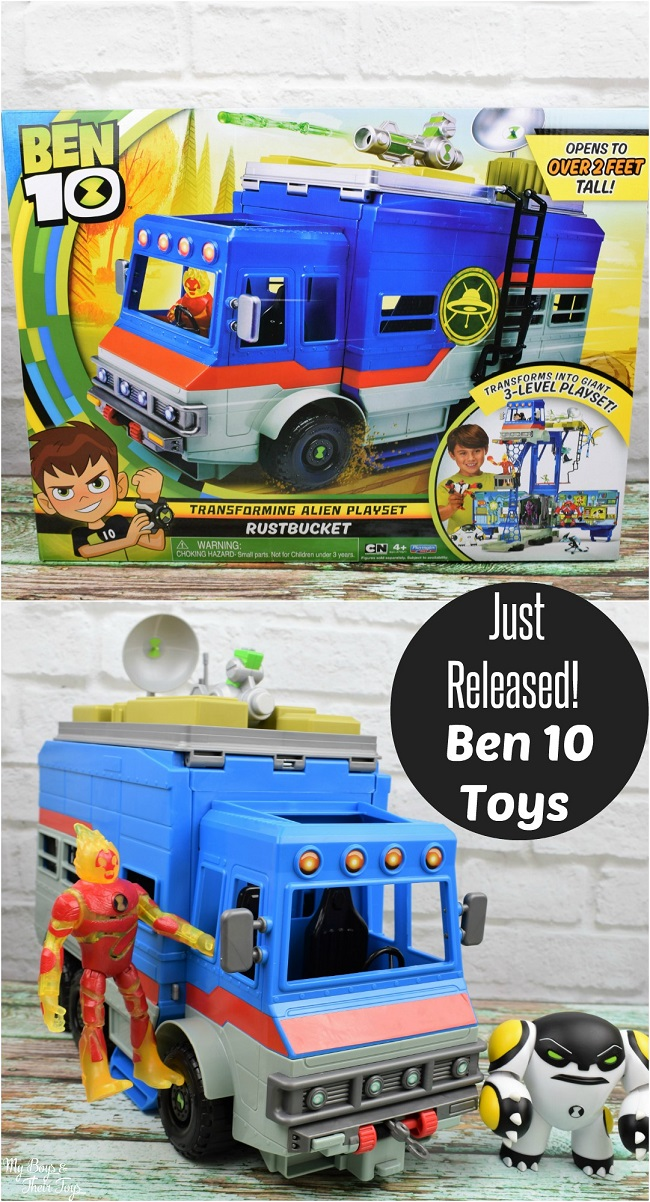 Boys And Their Toys : New ben toys by playmates my boys and their