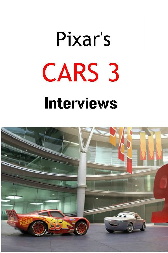 pixar's cars 3 Interviews
