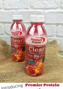 Introducing Premier Protein Clear + Giveaway! #TheDayisYours