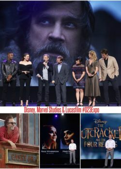 Disney, Marvel Studios & Lucasfilm Live Action Films #D23Expo
