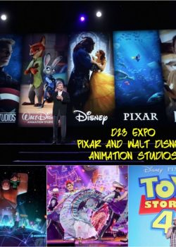 D23 Expo – Pixar and Walt Disney Animation Studios Upcoming Films