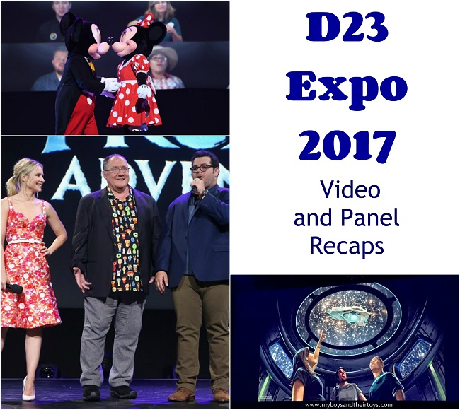 d23 expo collage