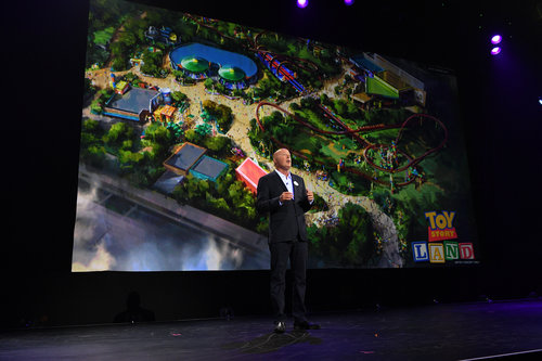 Toy Story Land images d23expo