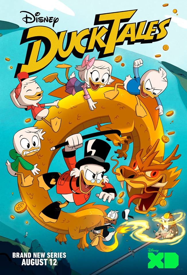 new ducktales cartoon