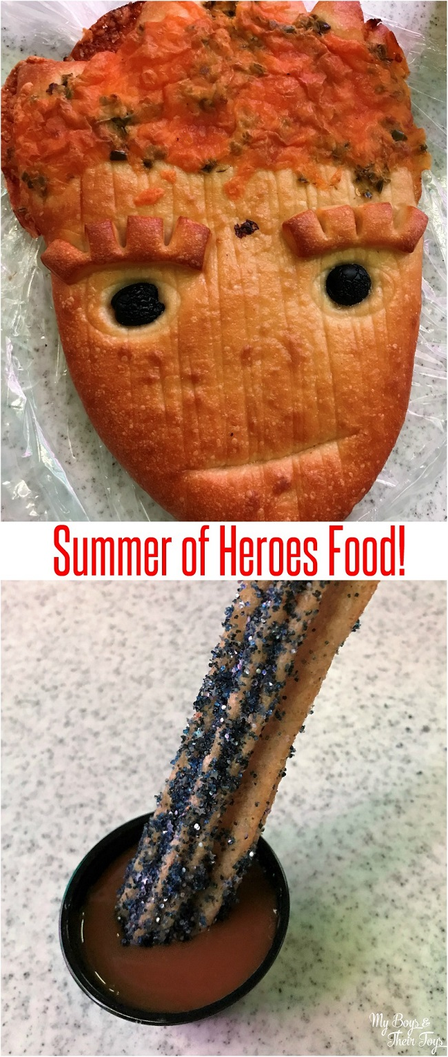 summer of heroes food