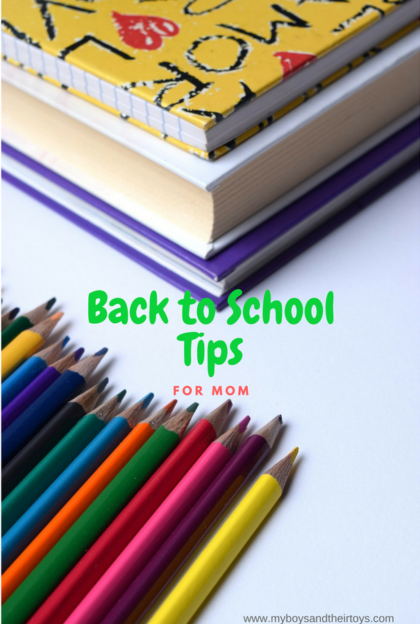 Back to School Tips for mom