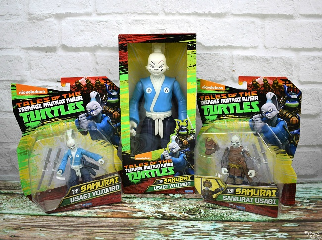 Introducing Usagi Yojimbo Figures From Tales Of The Tmnt