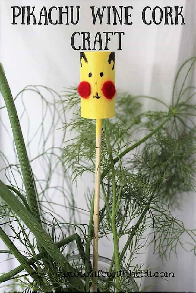 Pikachu-Wine-Cork-Craft