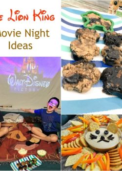 lion king movie night ideas