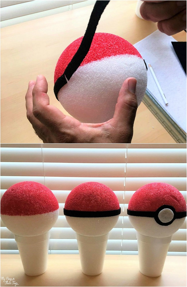 poke ball diy decorations