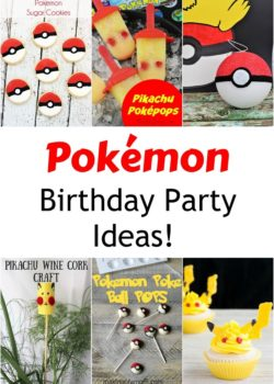 pokemon birthday party ideas