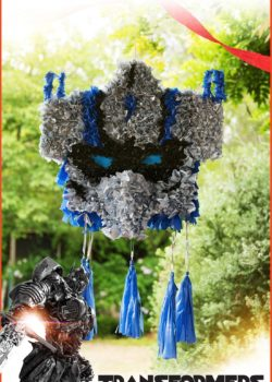transformers transformers party ideas diy pinata