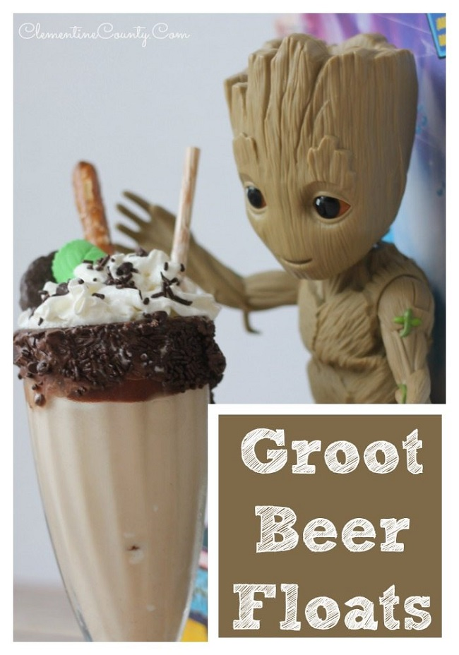 Groot-Beer-Float