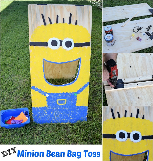 minion bean bag toss
