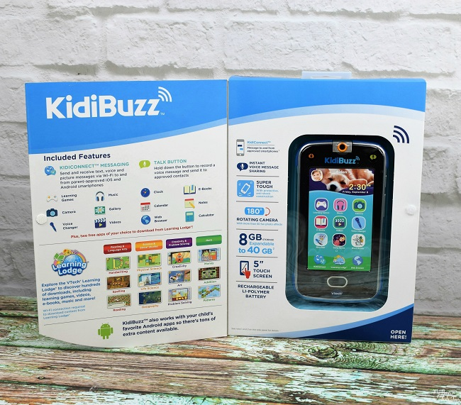 kidibuzz features