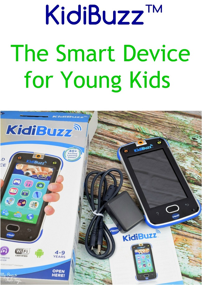 smart device for kids kidibuzz