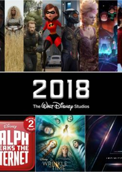 2018 walt disney pictures movies